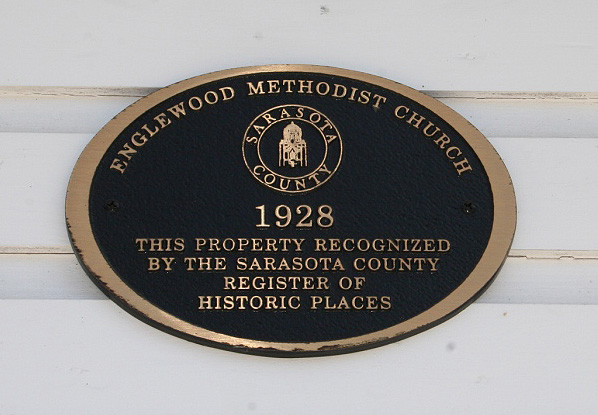 The church museum is a designated Sarasota County Historical Building.