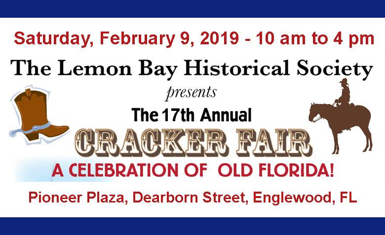 Englewood Street Fair 2020.Cracker Fair Lemon Bay Historical Society