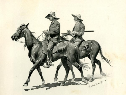 Florida Crackers by Frederick Remington